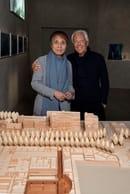 Giorgio Armani & Tadao Ando - photocredit SGP