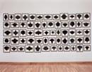 Allana McCollum. Collection of 60 drawings nº 7, ca.1988-1990. Inchiostro su carta di conservazione. Courtesy IVAM, Institut Valencià d'Art Modern