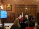 Ines PierucciAssessore alla Cultura, Antonio Decaro Sindaco di Bari e Alessandro Cariello (staff urbanistica, rigenerazione e periferie)