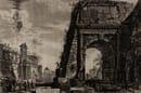 Giambattista Piranesi: Arco di Tito. Acquaforte 47,7 x 70,6