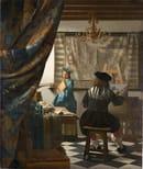 Jan Vermeer, Allegoria della Pittura, 1666