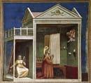 Giotto, L'Annuncio a Sant'Anna, 1303-1305
