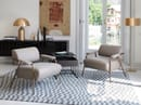 poltrona lounge STAY / tavolino POCKET / madia SEN