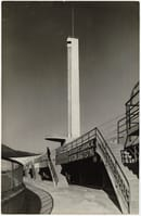 Stadio Artemio Franchi, lateral view of the Marathon Tower ©Ferdinando Barsotti, 1932