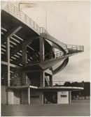 Stadio Artemio Franchi, one of the helical staircases ©Ferdinando Barsotti, 1932