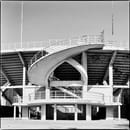 Stadio Artemio Franchi, one of the helical staircases ©Marco Menghi