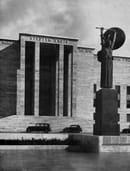 La Citta` Universitaria_Pronao Edificio Rettorato