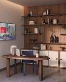 3. Petit bureau en forme libre by Charlotte Perriand