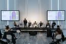 Conferenza stampa. © Triennale Milano. Foto Foto Gianluca di Ioia