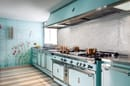 8. The tailor-made kitchen for Palazzo Corner Spinelli