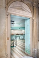 18. The tailor-made kitchen for Palazzo Corner Spinelli