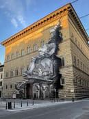 La Ferita, Palazzo Strozzi, Firenze - ©JR-ART.NET