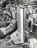 Veduta del Grattacielo, anni Sessanta, foto Dino Sala, courtesy of Fondazione Pirelli