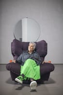 7. Paola Navone with Milano Armchair