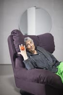 18. Paola Navone with Milano Armchair