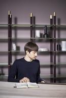 16. Federico Peri with Mikado Freestanding Bookcase