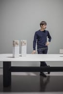 17. Federico Peri with Ellipse Table
