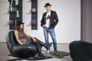 3. Draga&Aurel with Barret Armchair