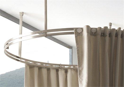 Colacril presenta la tenda vasca doccia disegnata da romano adolini - Tende doccia rigide ...