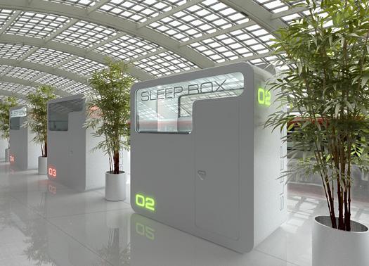 """Sleepbox Di Arch Group : La sleepbox di arch group l hotel """"in scatola"""