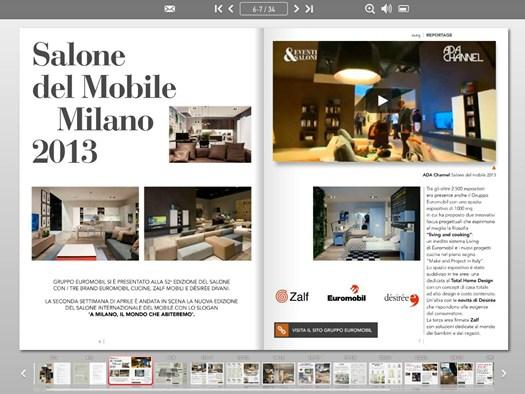 Maeg il nuovo magazine interattivo del gruppo euromobil for Euromobil 02