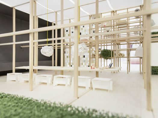 Das Haus - Interiors on Stage - Louise Campbell, imm cologne 2014