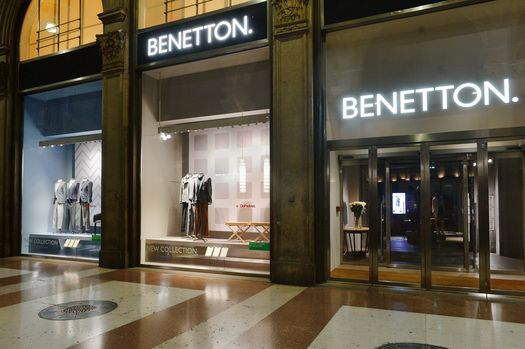 DE PADOVA AL CONCEPT STORE UNITED COLORS OF BENETTON