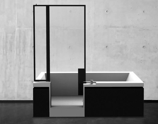 Vasca doccia finestre parigine suggeriscono l 39 idea for Interni case parigine