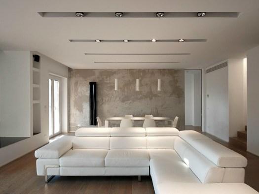 Bicuadro architects firma un nuovo attico a roma for Arredamento interni roma