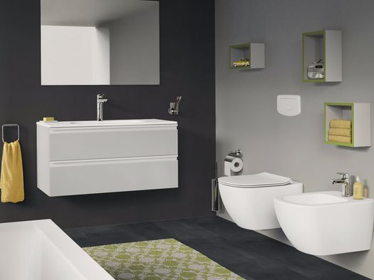 Ideal Standard Lavabo Tesi.Le Icone Ideal Standard Si Rinnovano