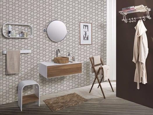 Bagno Design Scandinavo : Hi macs® ridisegna il bagno