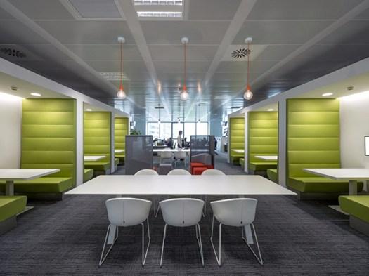 Lavoro Design Interni Milano.Lo Smart Working By Degw Per Sky Italia A Milano Santa Giulia