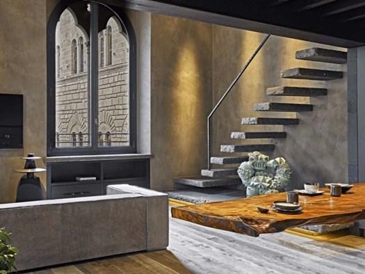 Firenze minimal style per l 39 appartamento a palazzo foresi for Appartamento minimal