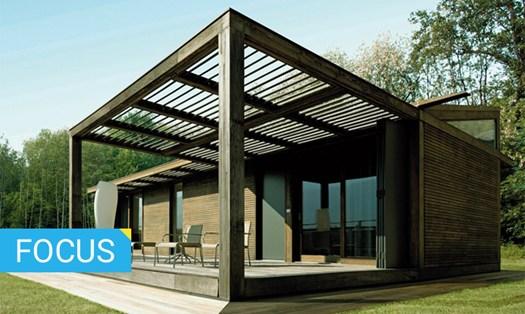 Costruzioni in legno caratteristiche e vantaggi for Case uso ufficio