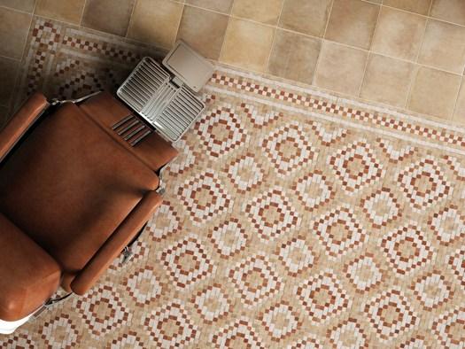 Pavimenti In Cotto Con Mosaico : Grandinetti produzione di pavimenti in graniglia pastina di