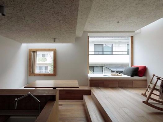 House in the city puro minimalismo giapponese for Mini casa minimalista