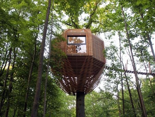 Origin tree house addio tradizionale casa sull 39 albero for Kit per costruire casa sull albero