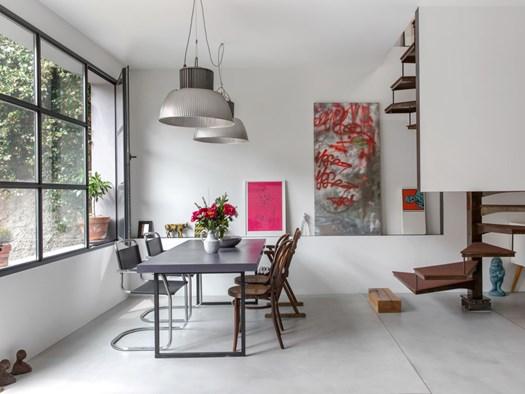 Casa cialdini: da ex carrozzeria a moderno appartamento a milano