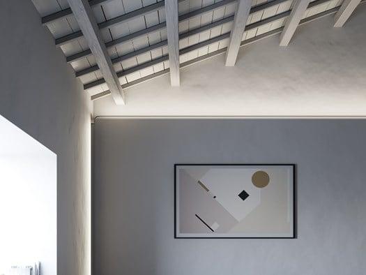 Illuminare soffitti alti a volta o dipinti