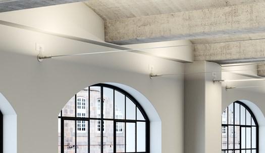 Soffitti Alti Illuminazione : Illuminare soffitti alti a volta o dipinti