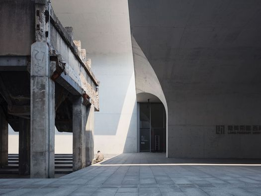 Long Museum West Bund Shanghai, China by Atelier Deshaus. Fotografo: Pawel Paniczko