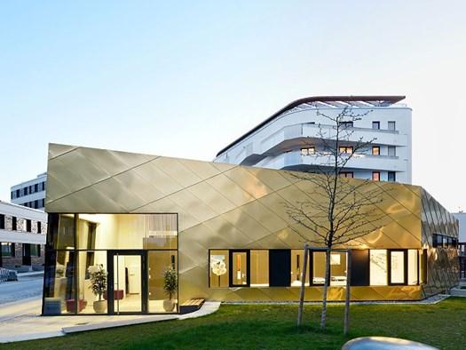 TECU® gold per il progetto di Maisch Wolf, © Ralf Dieter Bischoff
