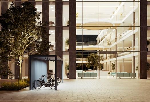 Kettal presenta il Bike Parking Pavilion