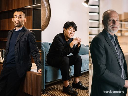 Keiji Takeuchi, Omi Tahara e Massimo Luca