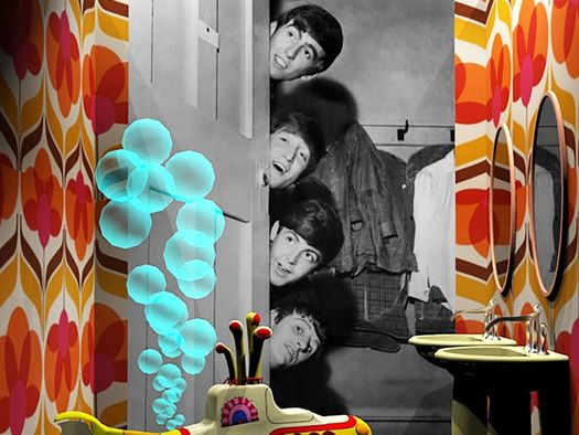 Beatles_Famous Bathrooms at Cersaie 2019