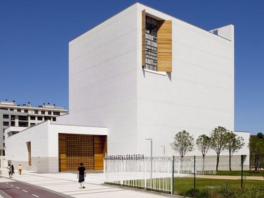 Chiesa di Iesu, a San Sebastian, Rafael Moneo, Vincitore Edizione 2016