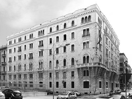 Bari, Palazzo dell'Acquedotto pugliese - Sede centrale (1924-1932), Ing. Cesare Brunetti