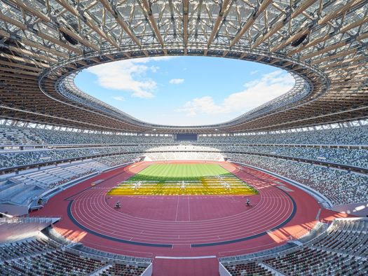 Japan National Stadium - Courtesy of Japan Sports Promotion Center - © Japan Sport Council