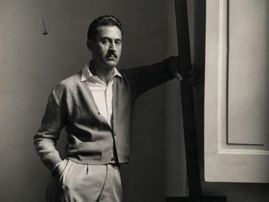 Ritratto di Franco Albini - Courtesy of Fondazione Franco Albini