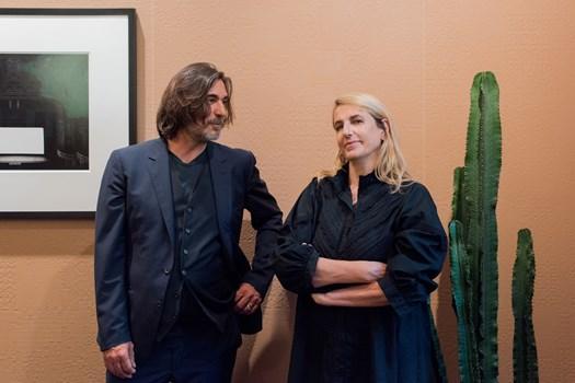 Massimo Orsini + Patricia Urquiola, photo by Stefania Zanetti